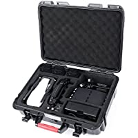 Smatree Mavic Air Carrying Case for DJI Mavic Air Fly More Combo,Waterproof Travel Hard Case for Mavic Air Drone