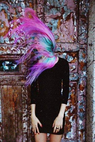 Uniwigs ombre dip dye color clip in hair extension 60cm length uniwigs ombre dip dye color clip in hair extension 60cm length black to red straight pmusecretfo Image collections
