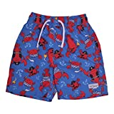 Flap Happy Baby Boys UPF 50 Swim Trunk with Mesh Liner, Lobster Pirate, 24m