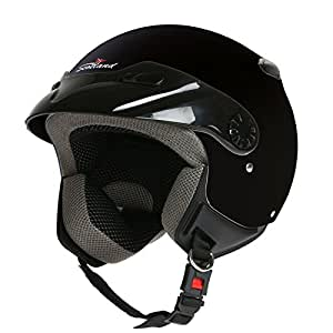 Rodeo Drive - Casco para moto, modelo Easy, color negro, talla M