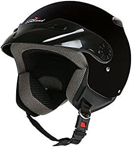 Rodeo Drive - Casco para moto, modelo Easy, color negro, talla M