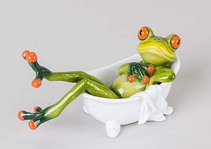 Set Bagno Rana : Decorazione rana nella vasca da bagno verde chiaro cm amazon