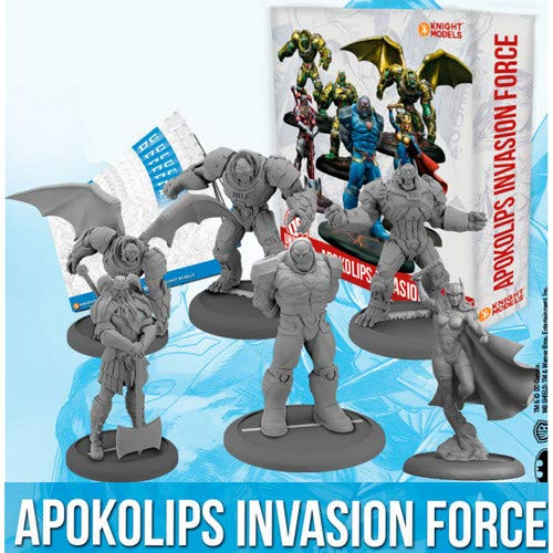 DC Universe Miniatures Game: Apokolips Resin Miniatures