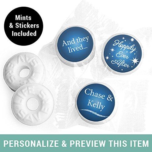 Wedding Mints Personalized LifeSavers Mints- Midnight Blue (300 ()