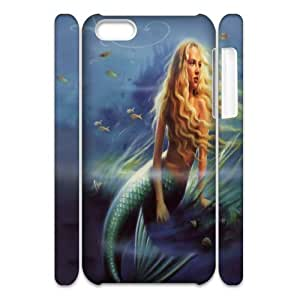 C-Y-F-CASE DIY The Little Mermaid Pattern Phone Case For iPhone 5C