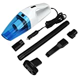 Car Vacuum Cleaner, Vikeepro Handheld Auto Vacuum Cleaner DC 12-Volt 120W Wet&Dry Portable Vehicle Lightweight Vacuum with 14.8FT(4.5M) Power Cord