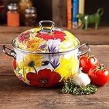 Pioneer Woman Cookware Best Deals - The Pioneer Woman Floral Garden 4-Quart Dutch Oven, Multi-Color