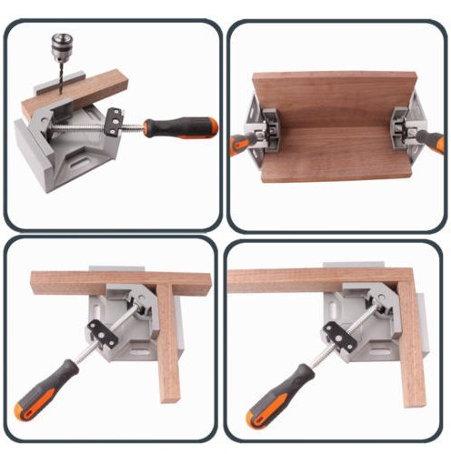 Corner Right Angle Vice Welding Woodworking, Clamps At Right Angle Carbide Vise by DD-life