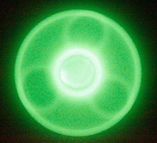 TSAAGAN Hands Spinner Focus Toy Spinner Fidget Ceramic Stainless Steel Hybrid Bearings Spinner L01FBA-Luminous