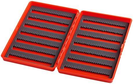 Caja de Almacenamiento de plástico con Gancho para Pesca con Mosca, con Ranura de Espuma, para 408 Moscas: Amazon.es: Hogar