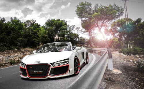 2014 Audi R8 V10 Spyder By Regula Tuning 8X10 Photo for sale  Delivered anywhere in USA