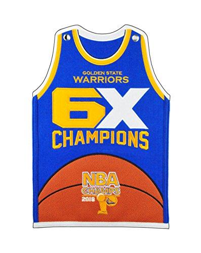 Winning Streak Golden State Warriors 2018 NBA Champions Jersey Banner by Winning Streak