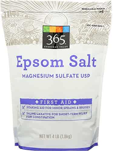 365 Everyday Value Epsom Salt, 4 Pound