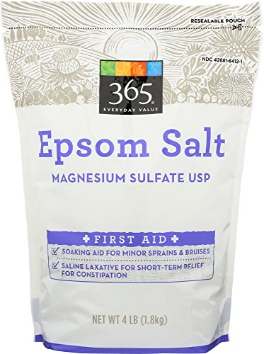 - 365 Everyday Value, Epsom Salt, 4 Pound