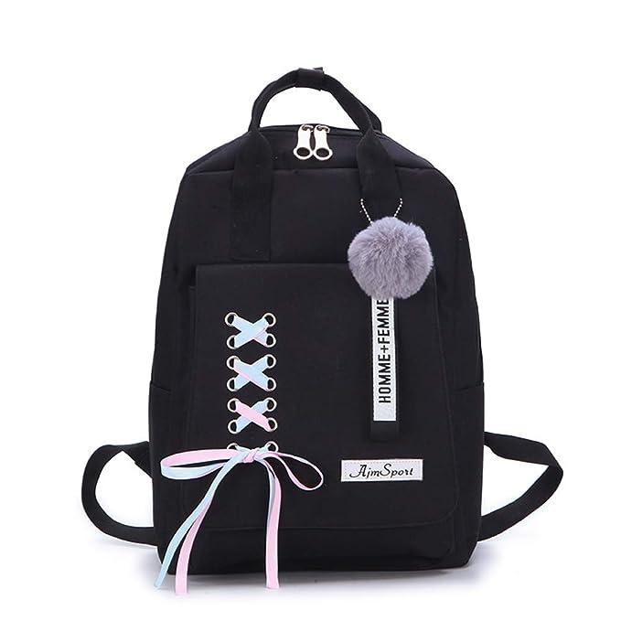 Amazon.com: Canran Mochila escolar para adolescentes y niñas ...