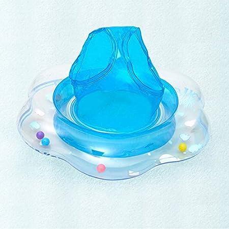 OuYou Flotador para Bebé con Asiento Inflable Espesado Anillo de Natación para 6 Meses-3 Años de Edad Reutilizable Lindo (Azul): Amazon.es: Juguetes y ...