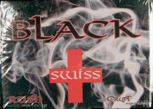 (Rush Swiss Crypt Black Bearings Skateboarding Bearings)