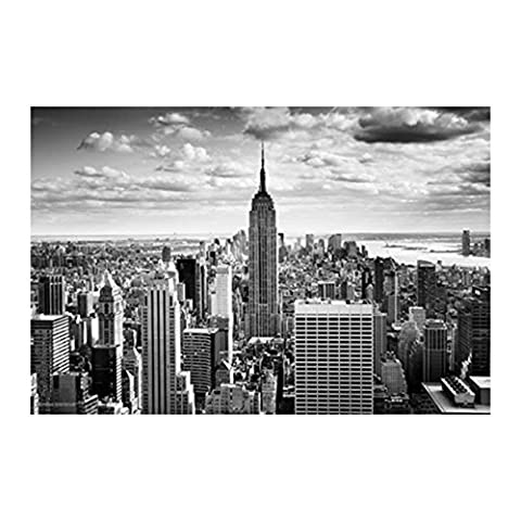 Empire State - Black & White Poster (36x24) - Empire State Building Photographs