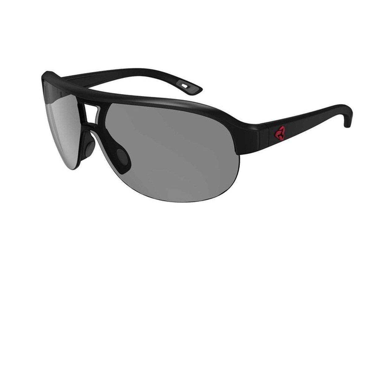 Ryders Eyewear Trestle Photochromicサングラス  BLACK/ GREY LENS 40%-16% B071R6NTCZ
