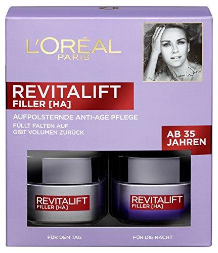 L'Oréal Paris Revitalift Filler [HA] Anti-Age Pflege-Set, 1er Pack (1 x 1 Stück)