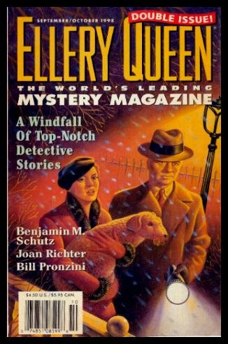 ELLERY QUEEN'S MYSTERY - Volume 112, numbers 3 and 4 - September October Sept/Oct 1998: The Archaeologist's Revenge; Not Enough Monkeys; A Publisher's Dream; The Vista O'Shea; Recipe Secrets; Medium Rare; Con; The Coincidence; The starkworth Atrocity