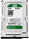 Western Digital Caviar Green 3 TB (3tb) SATA III 64 MB Cache Bare/OEM Desktop Hard Drive for PC, Mac, CCTV DVR, NAS, RAID- 1 Year Warranty