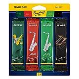 Vandoren SRMIXT25 Tenor Saxophone Reeds, Mix #2.5