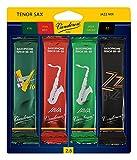 Vandoren SRMIXT25 Tenor Sax Jazz Reed Mix Card