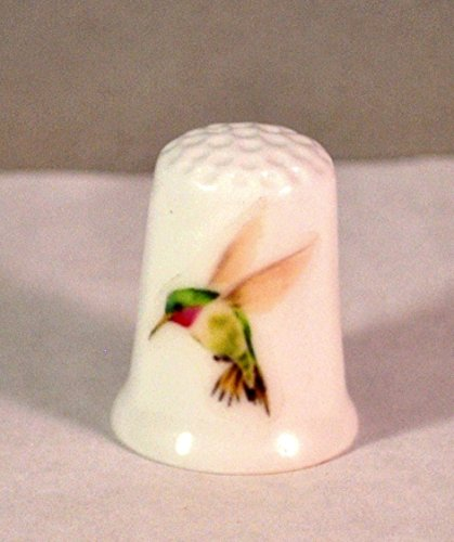 (Collectible Thimble Green Hummingbird)