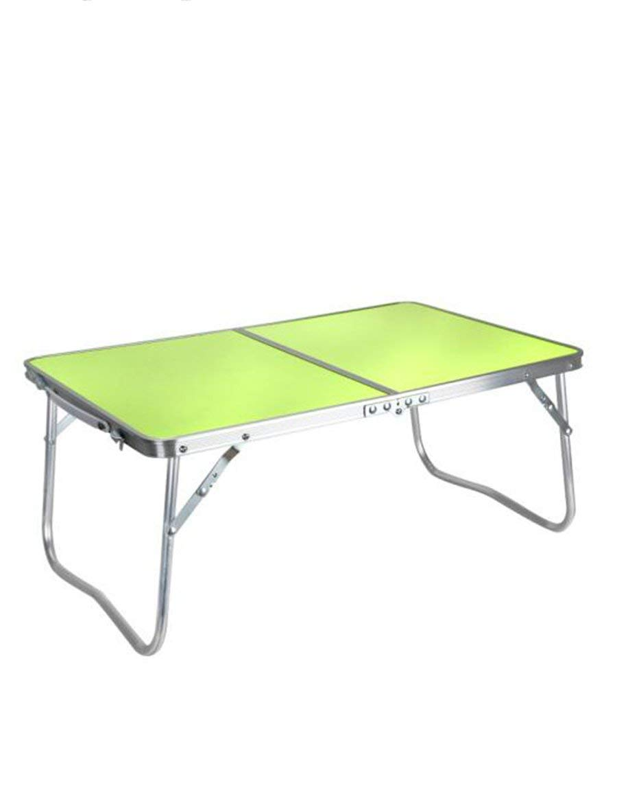 GUI Table-Aluminum Alloy Foldable Bed Computer Desk Outdoor Simple Desk,A