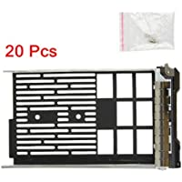 (20 Pack)3.5 F238F 0G302D G302D 0F238F 0X968D X968D SAS/SATAu Hard Drive Tray/Caddy for DELL server R610 R710 T610 T710 Compatible with F238F