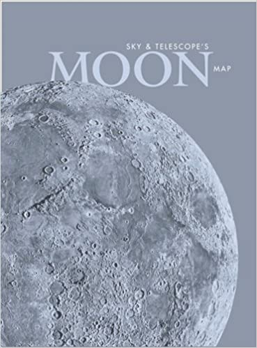 Sky & Telescope\'s Moon Map, Laminated: Sky Publishing ...