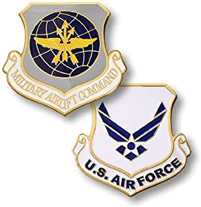 USAF Military Airlift Command Challenge Coin by Northwest Territorial Mint