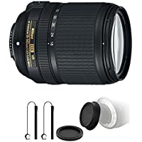 Nikon AF-S DX NIKKOR 18-140mm f/3.5-5.6G ED Vibration Reduction Zoom Lens with Auto Focus for Nikon D7100 D3200 with Ultimate Accessory Kit