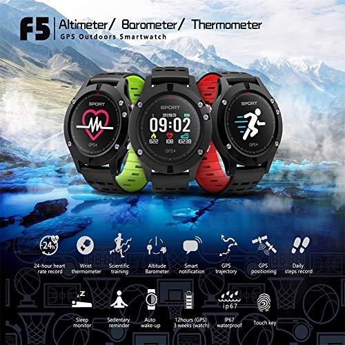 Amazon.com: YSCEN New F5 Smart Watch with GPS Altimeter ...