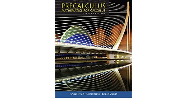 Precalculus: Mathematics for Calculus: Amazon.es: James Stewart, Lothar Redlin, Saleem Watson: Libros en idiomas extranjeros