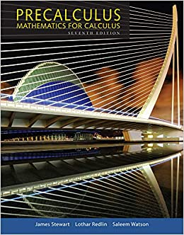 Precalculus Mathematics For Calculus James Stewart Lothar Redlin