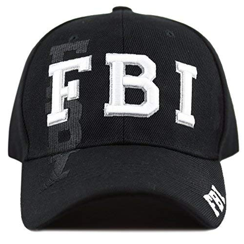 THE HAT DEPOT Law Enforcement Police Officer 3D Embroidered Baseball Cap ()