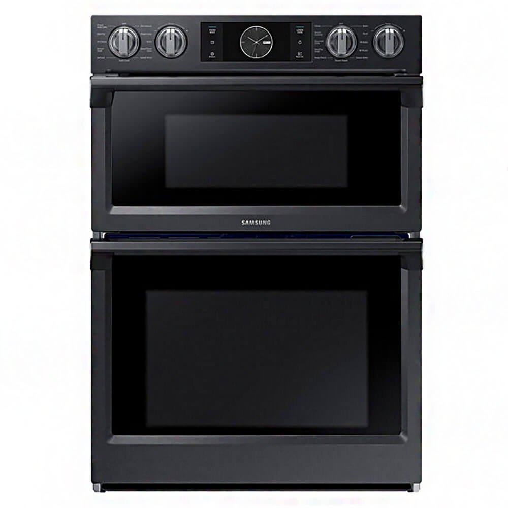 Samsung NQ70M7770DG/NQ70M7770DG/AA/NQ70M7770DG/AA 7.0 Cu. Ft. Flex Duo Combination Black Stainless Electric Wall Oven