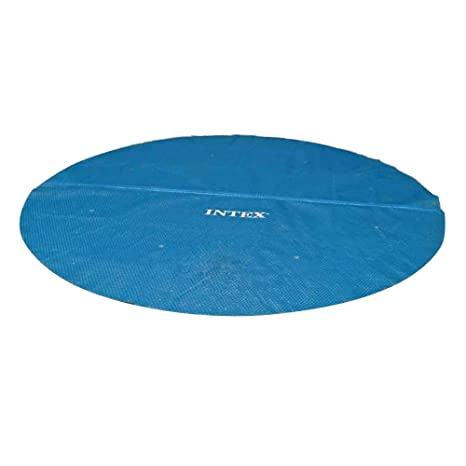 Amazon.com : Intex Solar Cover for 12ft Diameter Easy Set and Frame ...
