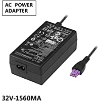 DEYF 32V 1560mA AC Adapter 0957-2230 0957-2105 0957-2271 for HP Officejet 6000 4500 6500A 7500 7500A 6500 PLUS E-ALL-IN-ONE Deskjet 6800, HP PhotoSmart 8450, HP B210, C309 a, g, C310, C2780 Printer