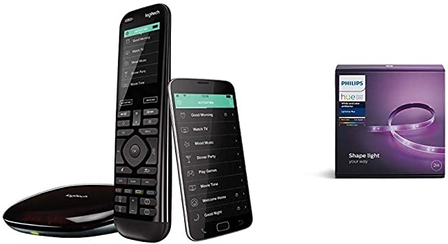 Logitech Harmony Elite Touchscreen Fernbedienung Für Elektronik