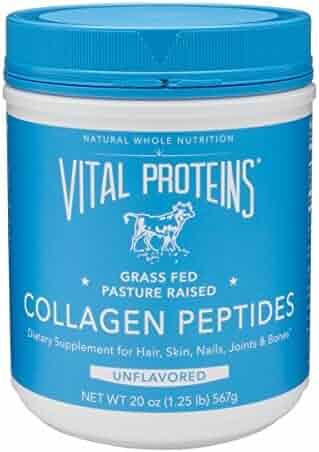 Vital Proteins Collagen Peptides (20 oz) - Pasture-Raised, Grass-Fed, Hydrolyzed - Paleo, Keto, Whole30, Gluten-Free