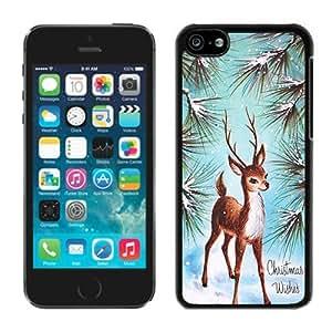 diy phone case2014 New Style Iphone 5C TPU Case Christmas Deer Black iPhone 5C Case 7diy phone case