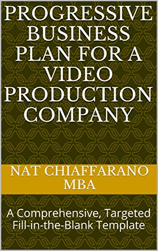 Amazon progressive business plan for a video production company progressive business plan for a video production company a comprehensive targeted fill in accmission Gallery