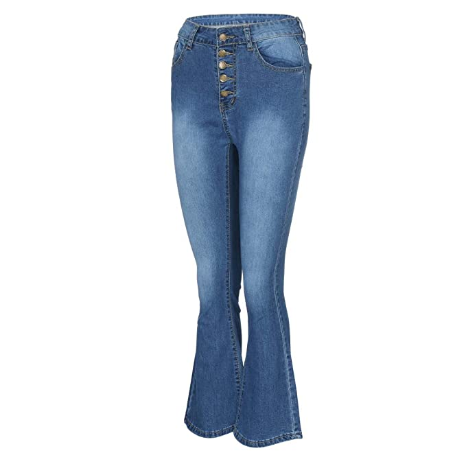 Amazon.com: Pantalones vaqueros para mujer de E-Scenery ...