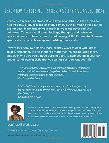 Amazon com: Coping Skills for Kids Workbook: Over 75 Coping