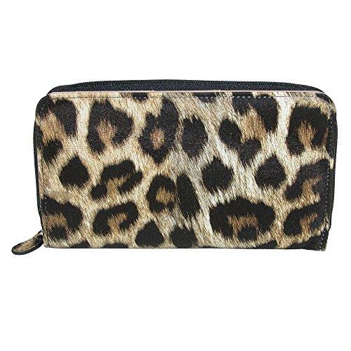 db design Women's Leopard Print Coupon Organizer Wallet, Leopard (Animal Print Wallet)