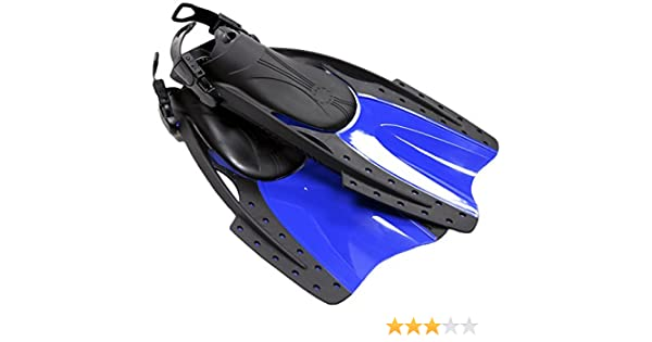 Youth Sizes Typhoon Sports Kids Snorkeling Diving Swimming Fins Compact Short Blade, Travel Size