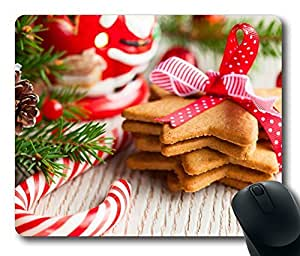 Design Mouse Pad Desktop Laptop Mousepads Christmas Sweets 2 Comfortable Office Mouse Pad Mat Cute Gaming Mouse Pad by runtopwell